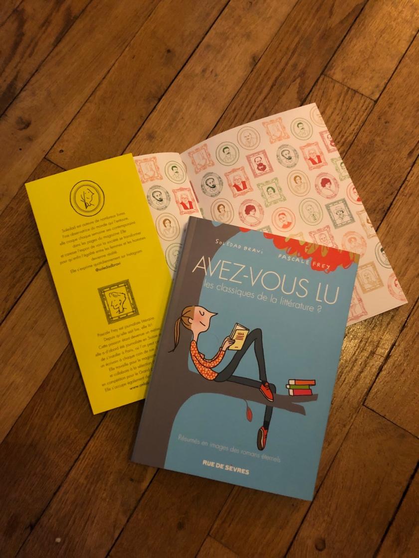 Avez-vous lu les classiques de la littérature ?, Soledad Brevi et Pascale Frey