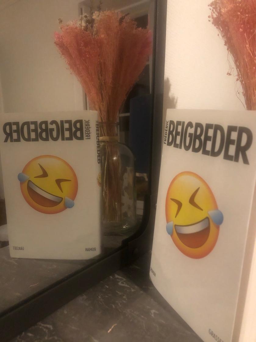 L'homme qui pleure de rire, Frédéric Beigbeder