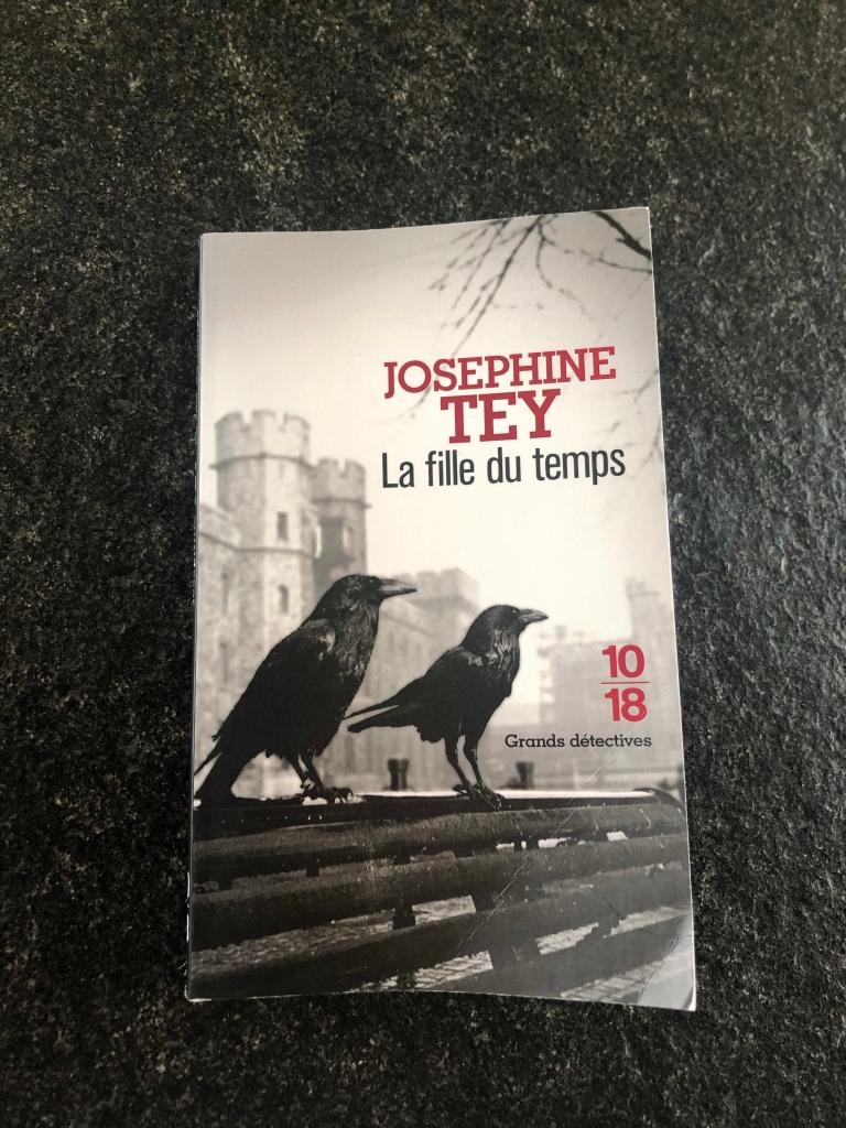 La  fille du temps,  Joséphine  Tey